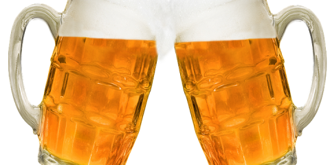 Pivní specialy dnes na čepu Nábřežních teras- VÁCLAV 13° a PETR VOK 13°  .