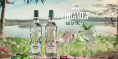Letní osvěžení pro Vás Finlandia Botanical-okurka nebo lesní ovoce a růže